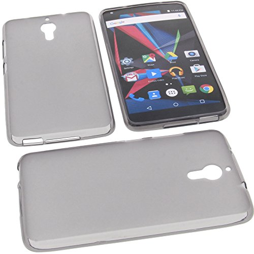 foto-kontor Tasche für Archos Diamond 2 Note Gummi TPU Schutz Handytasche grau