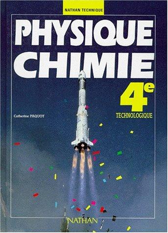 Physique, chimie, 4e technologique
