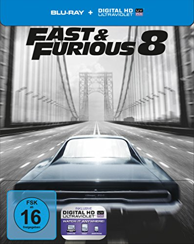Bild von Fast & Furious 8 – Limited Steelbook-Edition [Blu-ray] [Limited Edition]