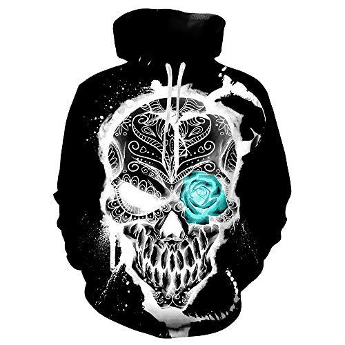 GongDi Hoodies Jungen Langarm Gemusterte Pullover 3D Prints Atmungsaktive Pullover Sweatshirts Für Herren Baseballuniform S-3XL