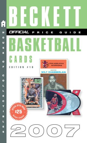 The Official Price Guide to Basketball Cards 2007