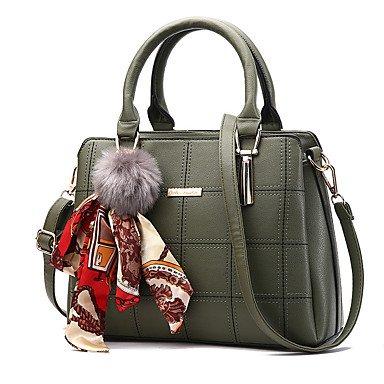 Frauen Handtasche Mode Plaid Schulter Messenger Crossbody Taschen / Handtaschen Tote Clover