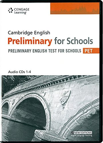 Practice Tests for Cambridge PET for Schools Audio CDs (Cambridge English for Schools)