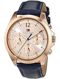 Tommy Hilfiger Damen-Armbanduhr Sophisticated Sport Analog Quarz Leder 1781703