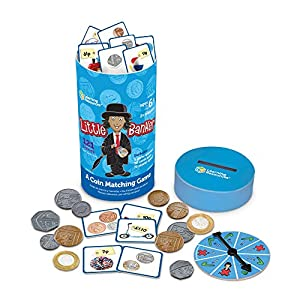 Learning Resources Little Banker Coin Matching Game by Learning Resources