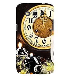 Midnight Clock 3D Hard Polycarbonate Designer Back Case Cover for Samsung Galaxy Grand 2 :: Samsung Galaxy Grand 2 G7105 :: Samsung Galaxy Grand 2 G7102