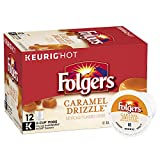 Best Flavored K Cups - Folgers Caramel Drizzle Ground Coffee K-cup Pods Review