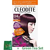 Cleodite Hair Color Cream For Those With Gray Hair - 04EB Earl Gray Brown (Green Tea Set)