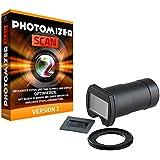 Somikon Embout d'objectif d'appareil photo réflex numérique pour numériser diapositives et négatifs