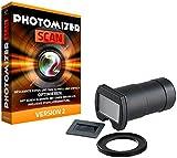 Somikon Negativ Scanner: DSLR-Objektiv-Aufsatz zum Digitalisieren von Dias/Negativen (Dias Abfotografieren Aufsatz)