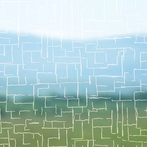 Artefact® Dekofolie / Fensterfolie Stripes | Selbstklebend | verschiedene Größen