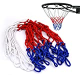 Best Basketball Nets - Sinbury® Durable Nylon Braided Multicolor Standard Basketball Goal Review