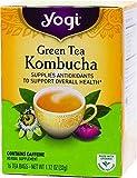 Yogi Herbal Green Tea Kombucha 16 TEA BAGS NET WT 1.12 OZ (32G)