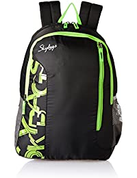 Skybags Polyester Black Casual Backpack (BPBRA11EBLK)