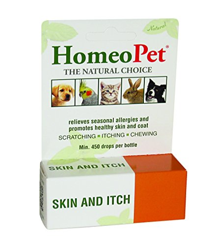 HomeoPet Skin and Itch Relief for Small Animals, 15 ml 1