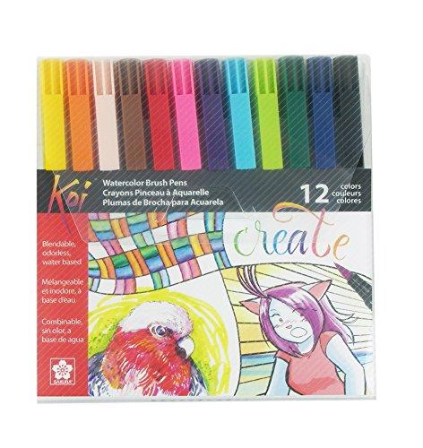 Preisvergleich Produktbild Sakura xbr-blend 2-teilig Blisterkarte Koi farblos Blender Set Ass't Color 12pc Set