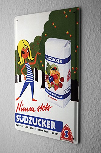tin-sign-sudzucker-werbeschild-take-always-sudzucker-fructose-advertising-past-old-school-20x30-cm