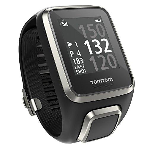 Tomtom Golfer 2 - Reloj de pulsera GPS para hombre, color Negro, talla S