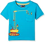 #10: nauti nati Baby Boys' Starred Regular Fit T-Shirt (NSS18-931-2Y_Turquoise)