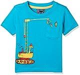 #9: nauti nati Baby Boys' Starred Regular Fit T-Shirt (NSS18-931-2Y_Turquoise)