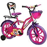 Ollmii™ Cycles 16 inch (Pink) Unisex Kids Cycle for 4 to 6 Years.