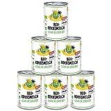 Coco King Bio-Kokosmilch - 6 Dosen - 400 ml - Öko-Test sehr gut
