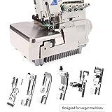 6 Piezas Kit Prensatelas Universal, Multifuncional Pie de Maquina de Coser, para la Mayoría