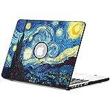 Fintie MacBook Pro 13 Retina Funda - Cuero de la PU + Cubierta de la caja de cáscara dura para Apple MacBook Pro 13.3 Pulgadas con Pantalla de la Retina A1502 / A1425 (Ultima Versión, NO DVD-ROM Drive), Starry Night