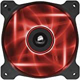 Corsair CO-9050015-RLED Air Series AF120-LED Quiet Edition 120mm High Airflow LED Lüfter, Rot