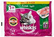 Whiskas Tuna in Jelly, Pouch, Multipack
