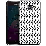 Samsung Galaxy A3 (2016) Housse Étui Protection Coque Black Jack Abstrait Motif