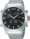 Lorus Herren-Armbanduhr Sport Analog - Digital Quarz Edelstahl RW601AX9