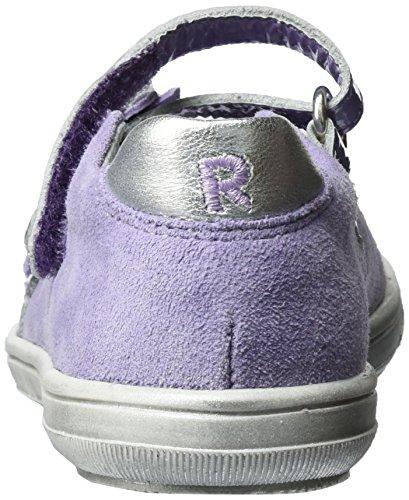 Richter Kinderschuhe Dandi, Ballerines fille Violett (thistle/lavend/silve)