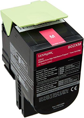 Preisvergleich Produktbild Lexmark 80C2XM0 Extra High Capacity Toner Cartridge, magenta