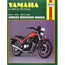 Yamaha XJ 650 and XJ 750 Fours Owners Workshop Manual, No. M738: '80-'84 (Haynes Manuals)