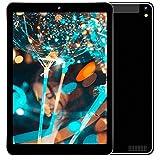 Tablet 10.1 Pulgadas 4G LTE, Android 7.0 Tablet PC con Dual SIM, Quad Core, 3 GB de RAM + 32 GB ROM, Cámara Doble, 8000mAh, Bluetooth, GPS, OTG, WiFi