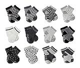BeBeCute 6er-pack Baby ABS Socken, Anti Rutsch Socken für 12-36 Monate Baby Mädchen und jungen