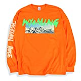 Photo de Ye Kanye West Long Sleeve T Shirt Wyoming Listening Party Orange par Ye