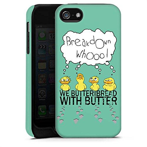 Apple iPhone X Silikon Hülle Case Schutzhülle We Butter The Bread With Butter Fanartikel Merchandise WBTBWB Tough Case matt