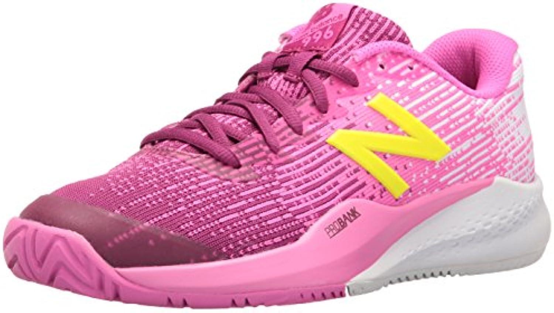 New Balance Mujeres wc996 V3 - Zapatillas de Tenis, Color- Pink/White, Shoe Size- 6.5 UK