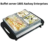 Aadvay Enterprises Stainless Steel Buffet Server FW 1805