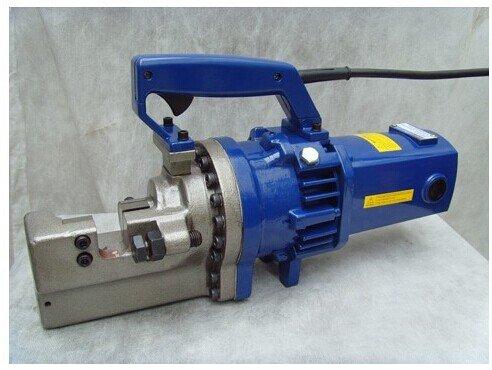 Gowe Portable hydraulique Cutter pour armatures et portatif de coupe pour armatures machine électrique Rebar Cutter Outil automatique hydraulique Rebar Cutter pour couper en acier Gamme de bar 4–25 mm