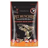 Pet Munchies 100% Natural Medium Salmon Skins  8x90gm