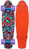 Penny Skateboard Cruiser, Komplett, 27 Zoll 68,6 cm bunt - Spike
