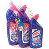 Harpic Original Toilet Cleaner 1 Ltr x 2 With Harpic 500 ml Free