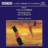 Quatuors à cordes Nos 3, 10 & 15