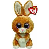 Ty Beanie Boos - Peluche Conejo, color marrón