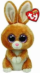 TY 36106 - Carrots - Hase, Glubschi, Beanie Boos, Ostern, 15 cm, braun