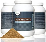 Complete Vegan Protein Powder 800g | Advanced Combination of Pure Plant Based Proteins - Soy, Pea, Rice, Lupine and Hemp | 18 Amino Acids, Diet and Sports Supplement | High Protein and Low Carb Content | Flavour: Silky Vanilla or Rich Chocolate | VEGAN by Vegavero (Chocolate)