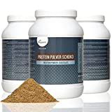 Vegan Protein Powder 800g | Advanced Combination of Pure Plant Based Proteins – Soy, Pea, Rice and Hemp | 18 Amino Acids, Diet and Sports Supplement | High Protein and Low Carb Content | Flavour: Silky Vanilla or Rich Chocolate | VEGAN by Vegavero (Chocolate)